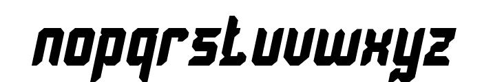 Dayak Shield Bold Italic Font LOWERCASE