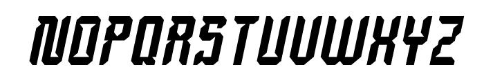 Dayak Shield Italic Font UPPERCASE