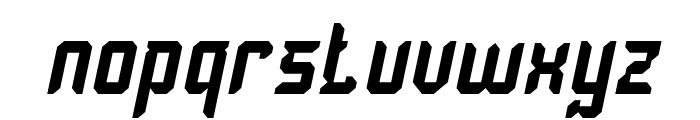Dayak Shield Italic Font LOWERCASE