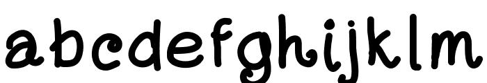 DayansFont Font LOWERCASE