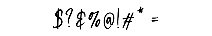 Daydream Font OTHER CHARS