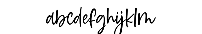 Daydream Font LOWERCASE