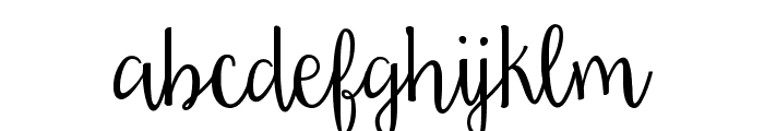 Daydreamer Font LOWERCASE