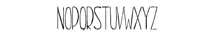Dayona Elegant Thin Font UPPERCASE