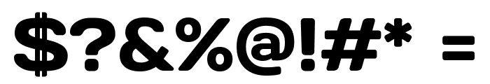 Days Regular Font OTHER CHARS