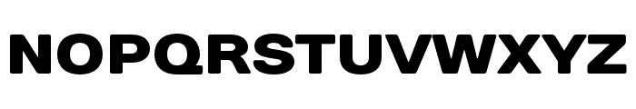 DaysSansBlack Font UPPERCASE