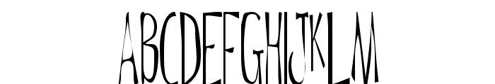 Daytripper Plain Font UPPERCASE