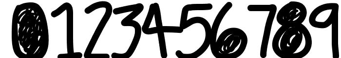 DazedAndConfused Font OTHER CHARS