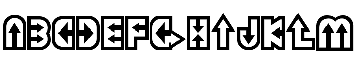 Dazey Font LOWERCASE