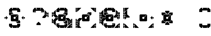 Dazzle Ships Font OTHER CHARS