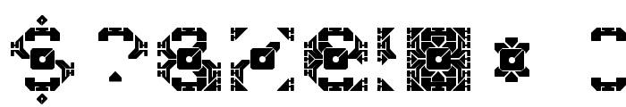 DazzleShips-Regular Font OTHER CHARS