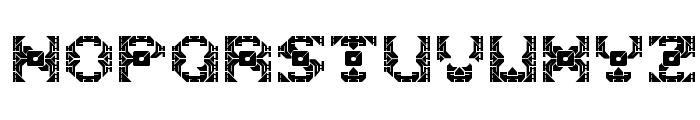 DazzleShips-Regular Font UPPERCASE