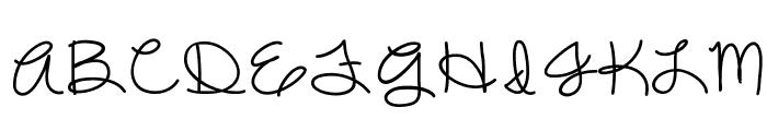 DazzlingDivas Font UPPERCASE