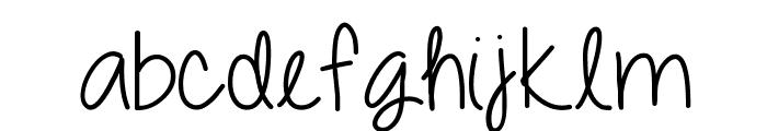 DazzlingDivas Font LOWERCASE