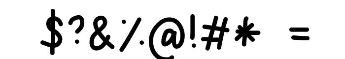 da Font OTHER CHARS