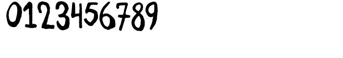Daft Brush Regular Font OTHER CHARS