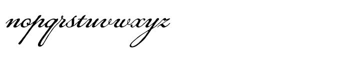 Daisy Lau Regular Font LOWERCASE