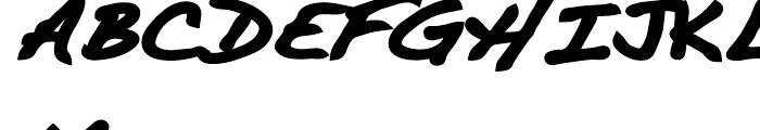 Dakota Black Font UPPERCASE