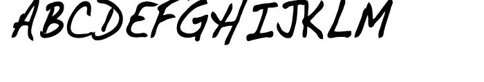 Dakota Bold Condensed Font UPPERCASE