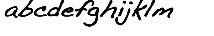 Dakota Bold Font LOWERCASE