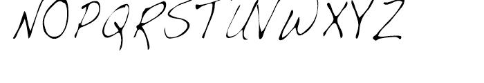 Dakota Light Condensed Font UPPERCASE