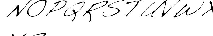 Dakota Light Italic Font UPPERCASE
