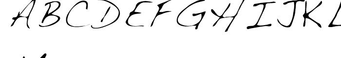 Dakota Light Font UPPERCASE