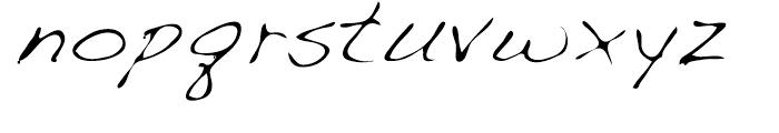 Dakota Light Font LOWERCASE