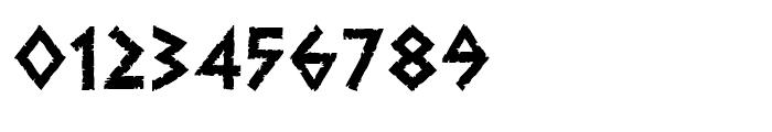 Dalek Heavy Font OTHER CHARS