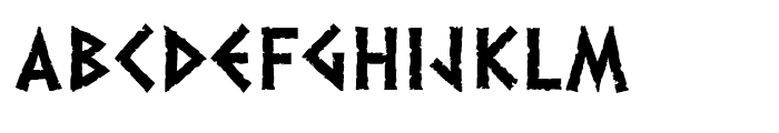 Dalek Heavy Font UPPERCASE