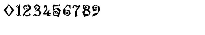 Damosel Regular Font OTHER CHARS