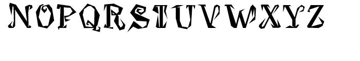 Damosel Regular Font UPPERCASE
