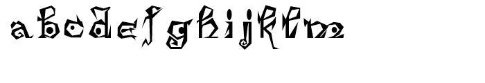 Damosel Regular Font LOWERCASE