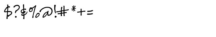 Danielle BF Regular Font OTHER CHARS