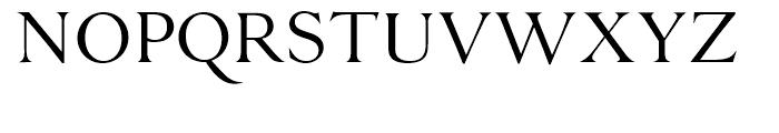 Danmark Light Font UPPERCASE