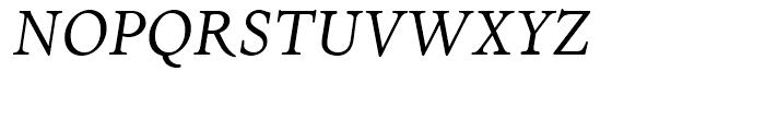Dante Italic Font UPPERCASE