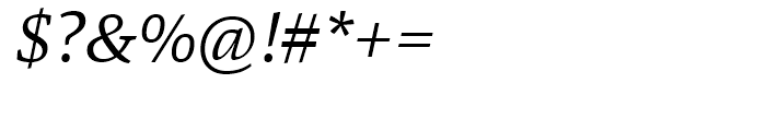 Danton Italic Font OTHER CHARS