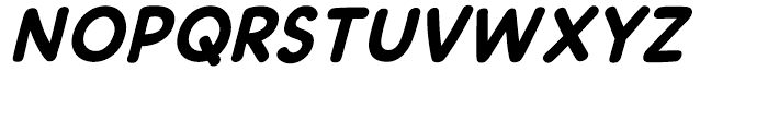 DashDecent Intl Bold Italic Font UPPERCASE