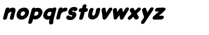 DashDecent Intl Heavy Italic Font LOWERCASE