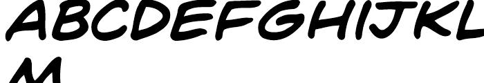 Dave Gibbons Intl Bold Italic Font LOWERCASE