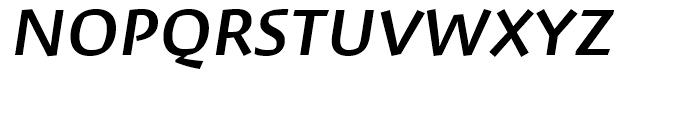 David Hadash Script Medium Font UPPERCASE
