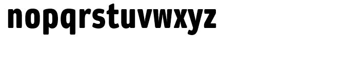 Daytona Condensed Fat Font LOWERCASE