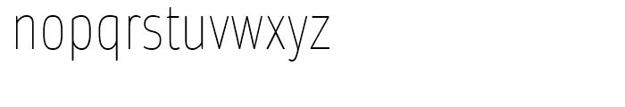 Daytona Condensed Thin Font LOWERCASE