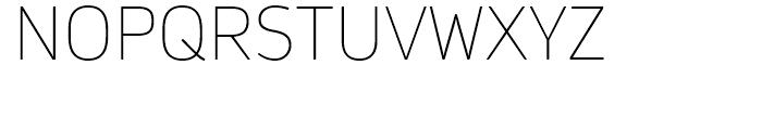 Daytona Thin Font UPPERCASE