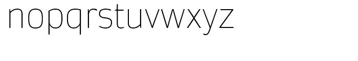 Daytona Thin Font LOWERCASE