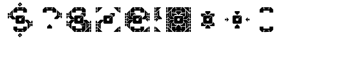 Dazzle Ships Regular Font OTHER CHARS
