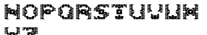Dazzle Ships Regular Font UPPERCASE