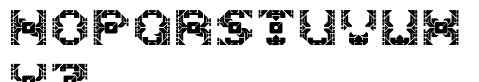 Dazzle Ships Regular Font LOWERCASE