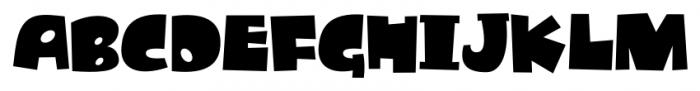 Dandygal Regular Font UPPERCASE