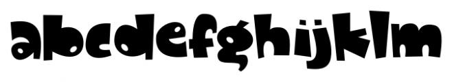 Dandygal Regular Font LOWERCASE